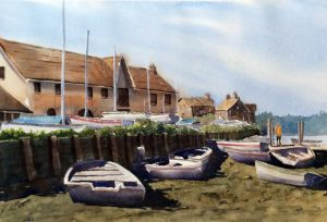 Boats at Burnham