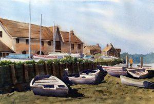 Boats at Burnham