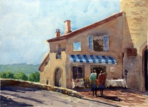 Lise Contini Workshop and Gallery- Watercolor
