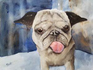 Gracie - Watercolor