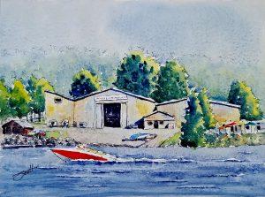 Watercolor Line & Wash